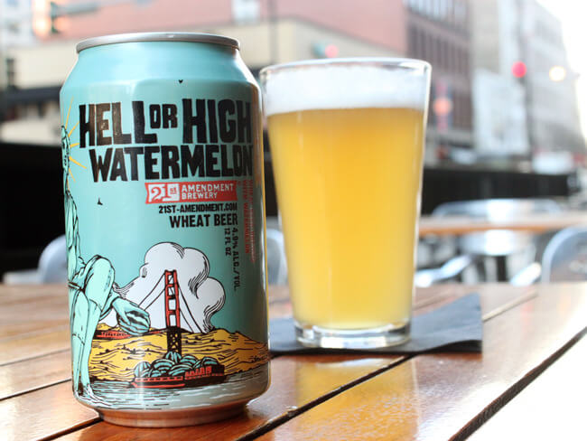 Арбузное пиво Hell High Watermelon